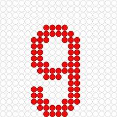 * Cijfer 9