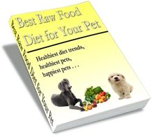 Natural diet just like nature meant it. happier, healthier, stronger and cleaner pet! Raw Dog Food Diet