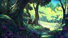 Forest by MathiasZamecki.deviantart.com on @DeviantArt