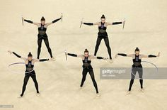 Group Ukraine got 17.416 points in Group All-around at Olympic Games (Rio) 2016