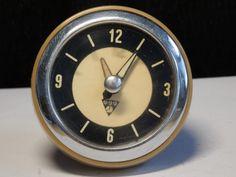 RARE Vtg. Czechoslovak PRAGOTRON BUS oldtimer 6V electric dashboard clock watch