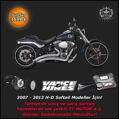 """2014 - 2015 Sportster ve V-Rod Modeller ile 2006 - 2013 Softail Modeller için VANCE&HINES egzozlarımız stoklarda!!! ACELE EDİN... 0535 882 82 82 - 0536 245 45 45  #exhaust #vancehines #engine #motorbike #motorcycles #bike #bikestagram #bikelife #ride #race #rideout #road #rock #run #drive #design #safe #speed #style #lifestyle #limitededition #live #freeway #feel #power #highway #horsepower #news #fuelpak"" Photo taken by @ttcustomshop on Instagram, pinned via the InstaPin iOS App!"