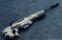 Longshot Sniper Conversion WIP by *JohnsonArms on deviantART
