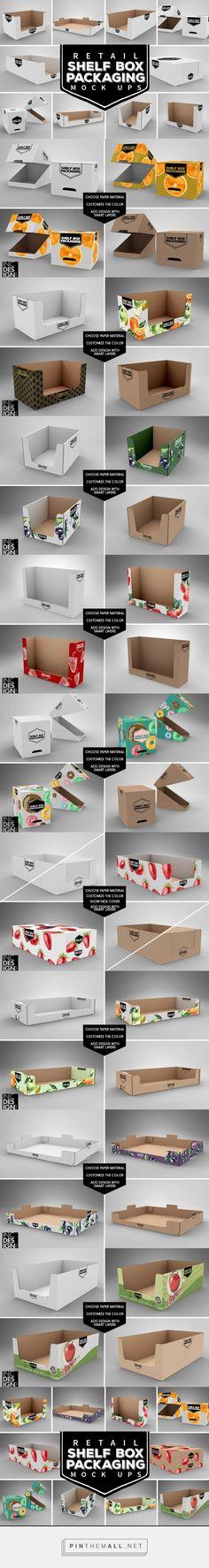 Shelf Ready Packaging MockUps