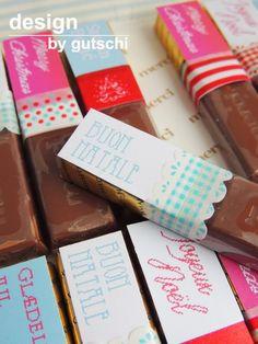 DIY - Schokoladige Weihnachtsgrüße ...