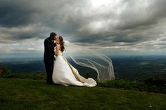 Such a gorgeous shot! The scenery looks amazing. Photo by Brady 2.0, available in North Carolina, Virginia and Tennessee. #weddingphotographer