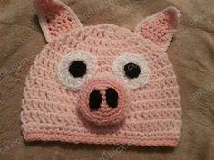 Three Little Pigs Beanie Hat Crochet Pattern for Storytelling - Media - Crochet Me