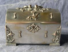 Vintage French Breton jewel box with by MonsieurBrocanteur on Etsy