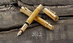 Resultado de imagem para canetas tinteiro em madeira