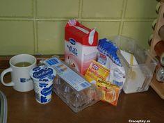 recept na lievance s pochutkovej smotany 1 Soap, Personal Care, Bottle, Self Care, Personal Hygiene, Flask, Bar Soap, Soaps, Jars