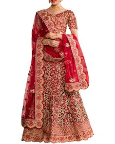 Drape This Magnificent Bridal Lehenga From Simaaya For A Stunning Look.  Crafted Using Fine Quality e0d8b1f91a822