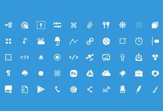 50 free PSD glyphs