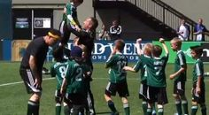 VIDEO: Watch 8-year-old Make A Wish cancer patient kick in winning soccer goal!