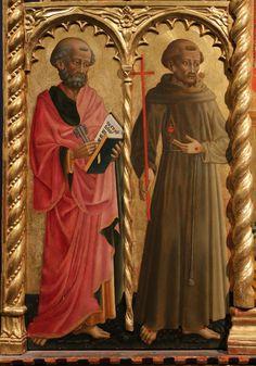 San Francesco, Madonna And Child, Art Boards, Saints, Italy, Detail, Children, Painting, Art