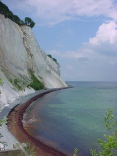 Møns Klint-Danish Island in the Baltic Sea