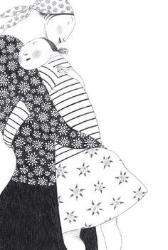 Pencil Ilustration by Elena Odriozola