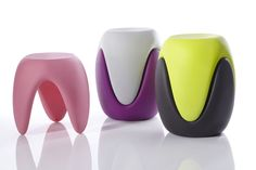 Pop Designer Hocker  BABY BITE by Karim Rashid