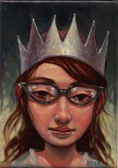 Kelly Vivanco - Art - Silver Crown