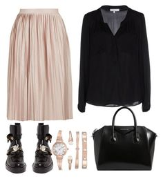 """""""Без названия #2"""" by toma-duxina on Polyvore featuring мода, Topshop, Balenciaga, Givenchy, Anne Klein и Milly"""