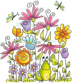 Flower Garden Drawing simple and pretty flower drawing … | pinteres…