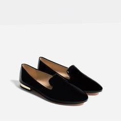 Image 1 of PATENT FINISH FLATS from Zara