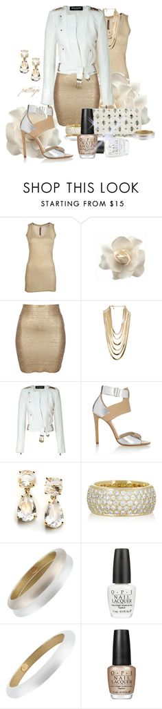 """""""Nail Tech Tips"""" by rockreborn ❤ liked on Polyvore featuring Rick Owens Lilies, Clips, Minty Meets Munt, BCBGMAXAZRIA, Balmain, KORS Michael Kors, Kate Spade, Jennifer Meyer Jewelry, Alexis Bittar and OPI"""