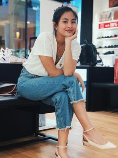 Casual Work Outfits, Work Casual, Summer Outfits, Gabbi Garcia Instagram, Filipina Beauty, Asian Cute, Asian Babies, Ulzzang Girl, Asian Beauty