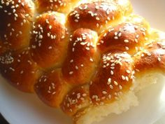 6 Strand Challah Bread- Recipe & How To.  Makes a beautiful loaf... one of my favorite ways to braid.