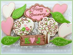 Outdoor Anniversary Cookies