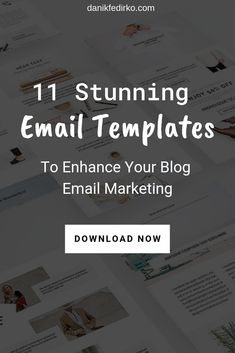 Visual appearance plays a huge role in marketing. It helps to better consume information and makes this experience overall better. Below you'll find 11 beautifull and effective Email templates. Email Marketing Design, Email Marketing Strategy, Email Design, Online Marketing, Social Media Marketing, Digital Marketing, Web Design, Email Templates, Edm Template