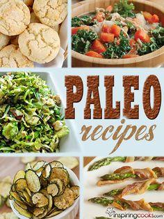 Paleo Recipes on InspringCooks.com