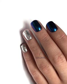 affordable nail art design ideas to try this winter 42 ~ my. La Nails, Shellac Nails, Nail Manicure, Stylish Nails, Trendy Nails, Cute Nails, Sparkle Nails, Glitter Nails, Nagellack Design