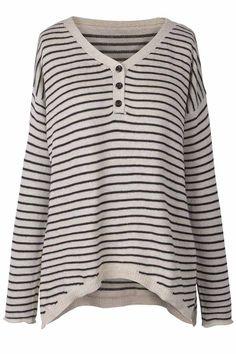 It's A Line Day Stripe Sweater