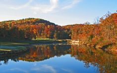 Gorgeous fall colors in Branson!