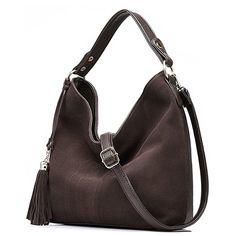 56fd8c592c Realer New Design Women Tote Leather Purse Crossbody Bag  Clothing