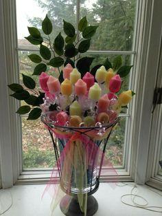 Partylite Candles Votive Rose Floral Bouquet Arrangement Tutorial