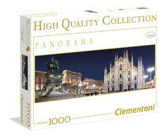 Milano - 1000 pcs - Panorama Puzzle - Clementoni