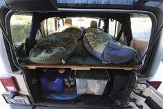 Time for a Jeep Sleep® (was Jeep Camper) T5 Camper, Mini Camper, Vw T5, Opel Vivaro Camper, Jeep Tj, Jeep Wrangler Camping, Jeep Mods, Jeep Truck, Jeep Rubicon
