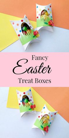 Easter Treat Box - Simple Sojourns - #DIY #Easter #Springtime #GiftBox #Crafts