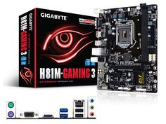 Mother Gigabyte GA-H81M-Gaming 3 Socket 1150