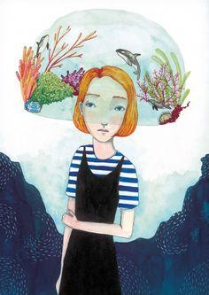 Laura Bernard « Illustration Friday
