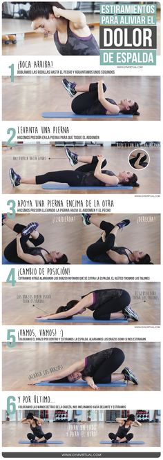 Fitness ejercicios espalda 47 Ideas for 2019 Yoga Fitness, Health Fitness, Motivation Yoga, Psoas Release, Estilo Fitness, Pilates Video, Gym Time, Excercise, Back Pain