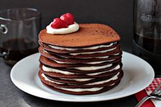 chocolate pancake cake!!!!!! omg!!!