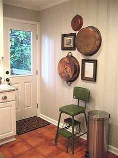 Love the painted knotty pine walls!  | followpics.co