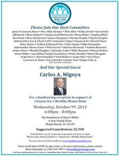 Political Fundraiser Flyer | Political Fundraiser Invitation ...