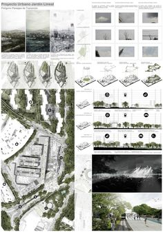 New Ideas Landscape Architecture Panel Presentation Boards Poster Architecture, Villa Architecture, Landscape Architecture Design, Architecture Drawings, Architecture Portfolio, Computer Architecture, Architecture Presentation Board, Presentation Layout, Project Presentation