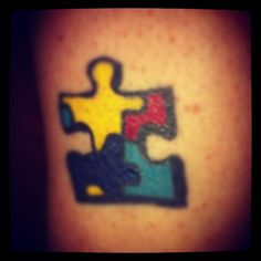 my autism tattoo <3 my kids