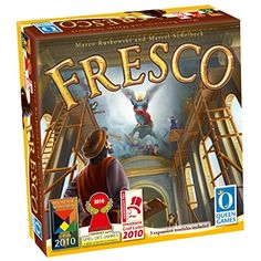 Fresco With Expansion 1 2 3 Queen Games