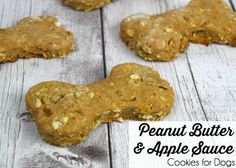 Looking for a quick and easy homemade treat for your dog? These peanut butter and apple sauce cookies are simple to make, wholesome, and delicious.