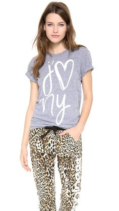 Sincerely Jules I Heart NY Pocket Tee http://rstyle.me/n/dp3m9r9te